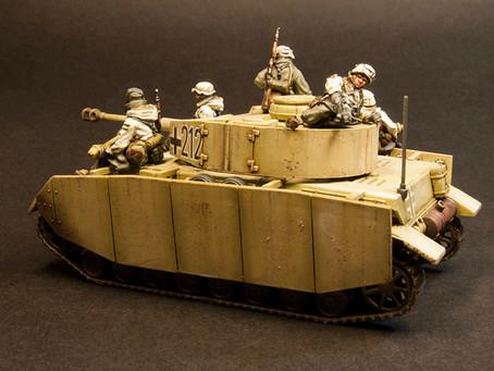 "NEW RELEASE: German Winter ""Tank Riders"""