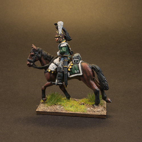 FNFR225: French Dragoons Post 1812 - Centre Company (3 figures)