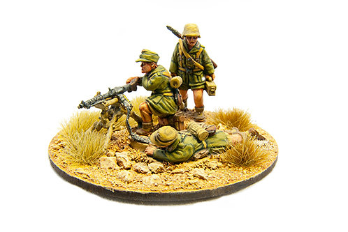 EGDK308: DAK - MG 34 Team in SF Role (3 figures)