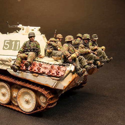 "EGSS955: Waffen SS - ""Tank Riders"" (8 figures)"