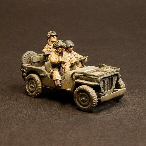 EUSP210: US Paras - Jeep & Crew (3 figures)