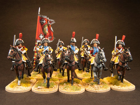NEW RELEASE: Napoleonic Spanish Dragoons