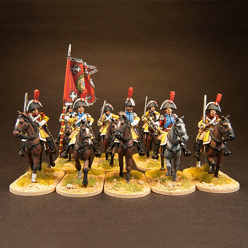 FNSP706: Spanish Dragoons - Set (12 figures)