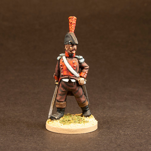 FNSP607: Spanish Volunteers B - Command (6 figures)