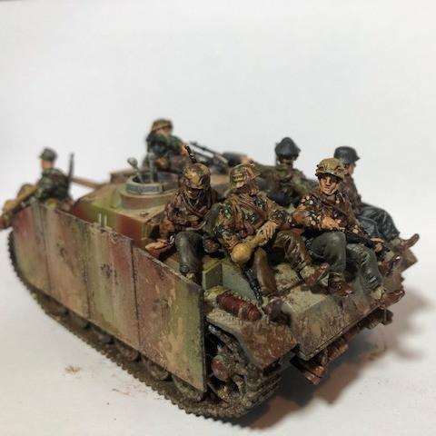 SS Tank Riders by Ian