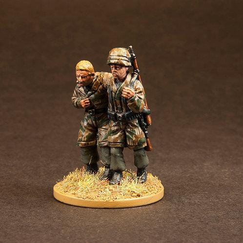 EGFJ412: FJ - Casualties (5 figures) + Normandy Cow