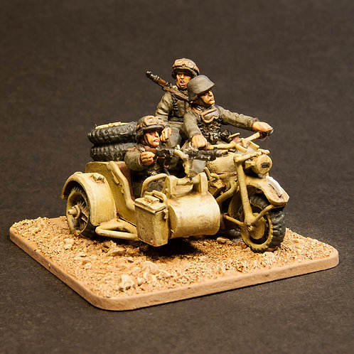 EGVK911: German Motorcycle - Recce Team (5 figures)