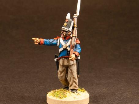 NEW RELEASE: Napoleonic Spanish Line Infantry 1811