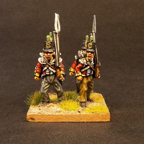 FNBR104: British Peninsular Infantry - Flank Company (8 figures)