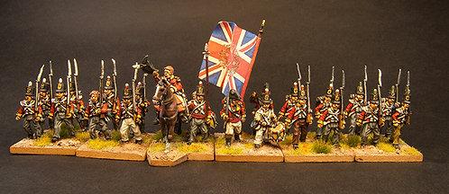 FNBR100: British Peninsular Infantry - Set (38 figures)