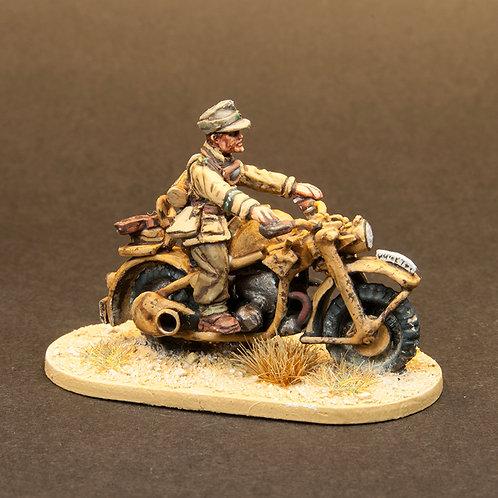 EGDK307: DAK - Motorcycle & Rider (1 figure)