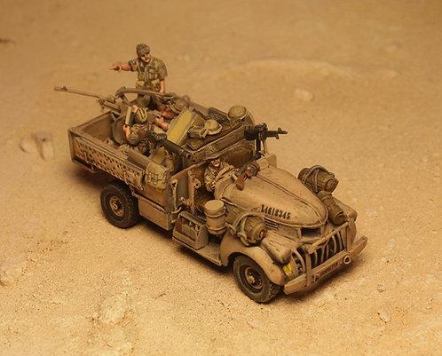"EBEA502: LRDG - ""Scorpions Tail"" & Crew (4 figures)"