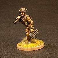 28mm British Paratrooper Soldier Miniature