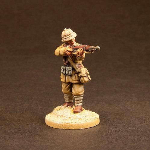 EIIN101: Italian Infantry - Desert (11 figures)