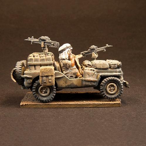 EBEA503: SAS - Desert Jeep & Crew (2 figures)