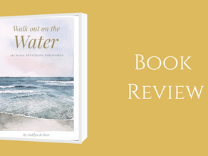 Book Review: Walk out on the Water By: Caitlyn   De Beer