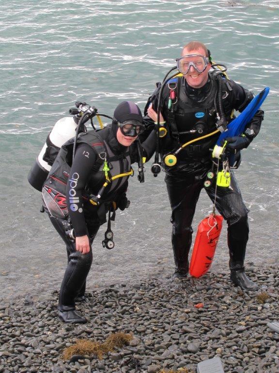 Ocean Diver training at Jones Bay
