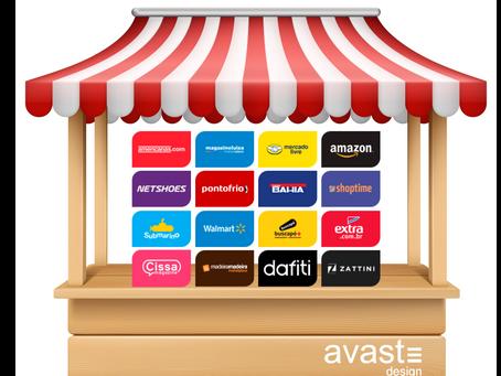 Venda nos maiores Marketplaces do Brasil