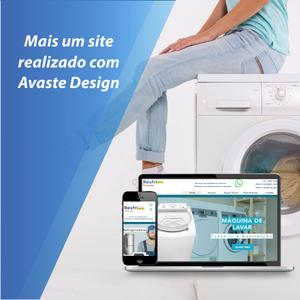Ar condicionado, Criação de site, Avaste Design,