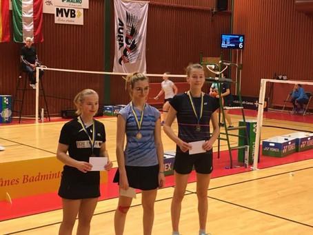 3 x GULD ved Swedish Youth Games 2019 i Malmø