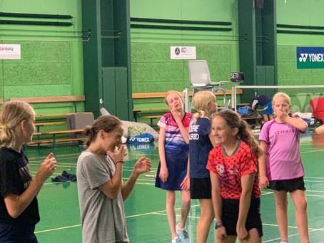7/8 september 2019: Hillerød Badmintonklubs åbne U9D, U11BCD, U13BCD og U15BCD turneringer