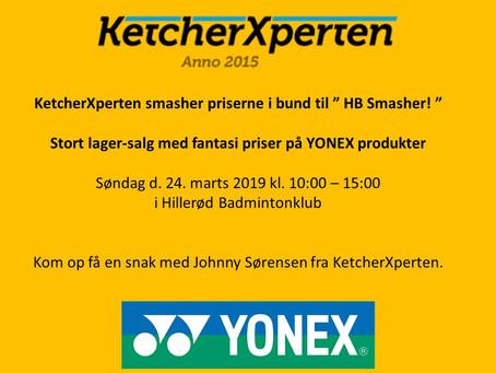 KetcherXperten smasher priserne i bund!