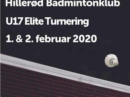 Velkommen til HB´s U17 Eliteturnering 2020