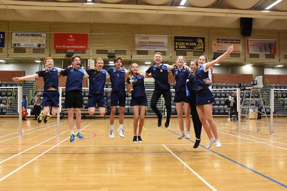 Sjællandsmstere 2018/2019 U15 4+3