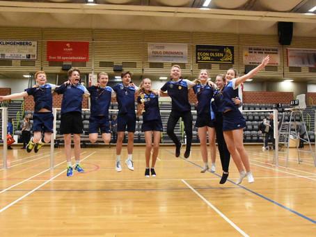 Stort tillykke med Sjællandsmesterskaber til U11B - U13 BC, U15 MA 4+2  og U15 4+3