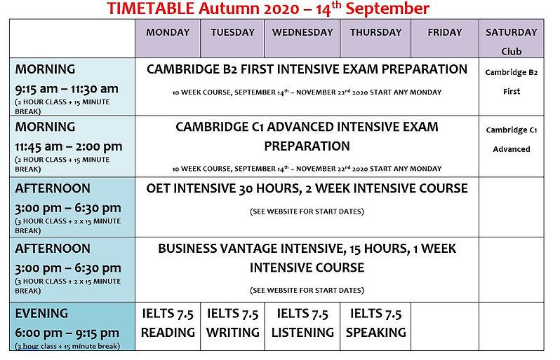 timetable autumn.JPG