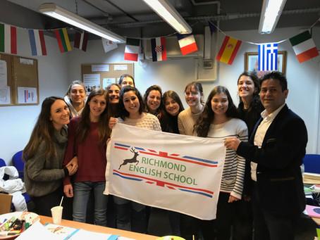 Back into English Classes with Richmond English School, Autumn 2021.