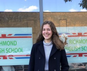 One-minute Interview, Lena C1 student