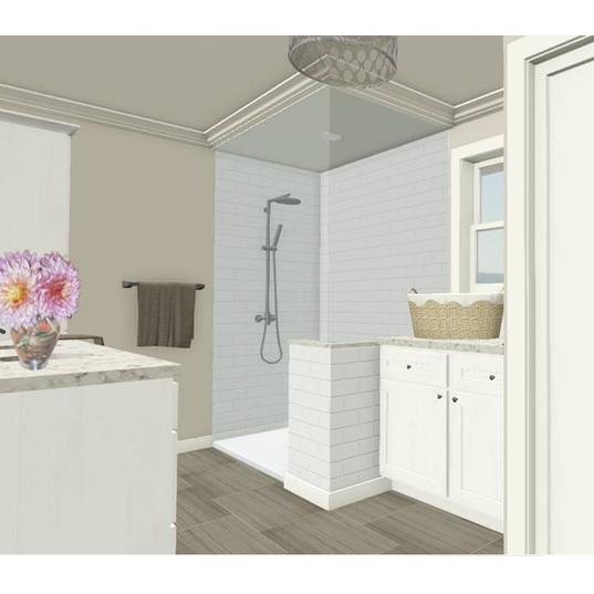 Jessica Lena Interior Design Bathroom