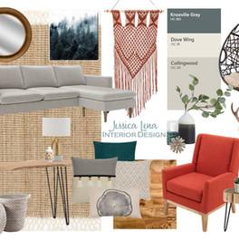 Jessica Lena Interior Design Living Room