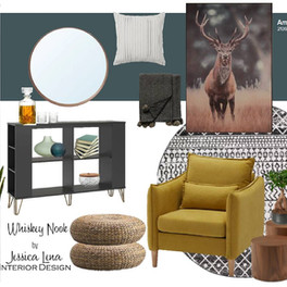 Jessica Lena Interior Design Whiskey Noo
