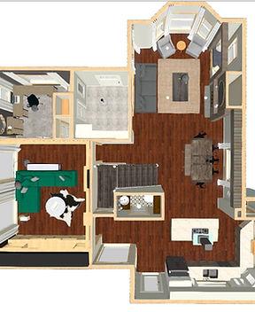 Jessica Lena Interior Design Floor plan