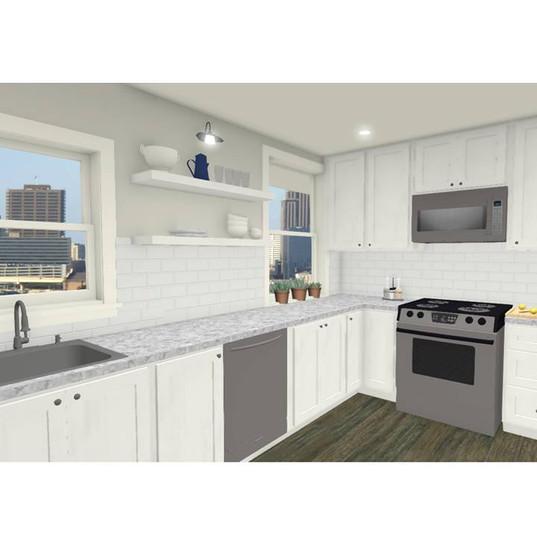 Ottawa Apartment Kitchen