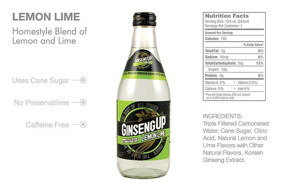 GinsengUp Lemon Lime