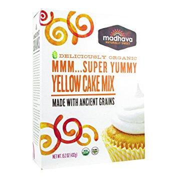 Madhava Organic Super Yummy Yellow Cake mix