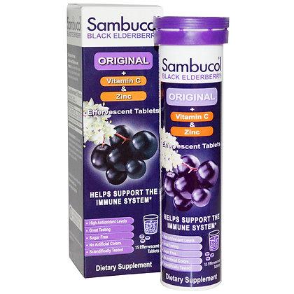 Sambucol Black Elderberry Effervescent Tablets – Immune support