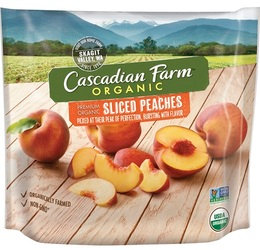 Cascadian Farm Organic Sliced Peaches