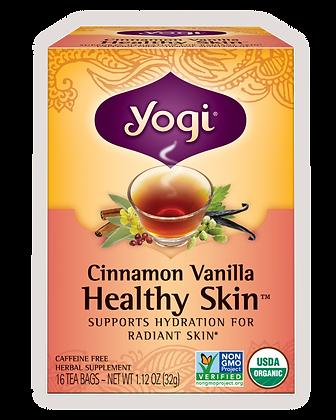 Yogi Organic Cinnamon Vanilla Healthy Skin Tea