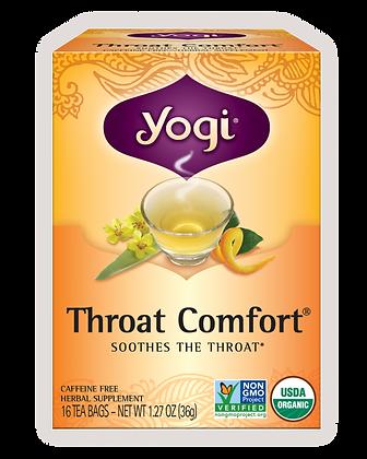 Yogi Organic Throat Comfort Tea
