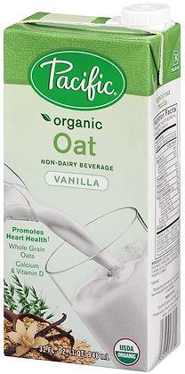 Pacific Organic Oat Milk (Vanilla)