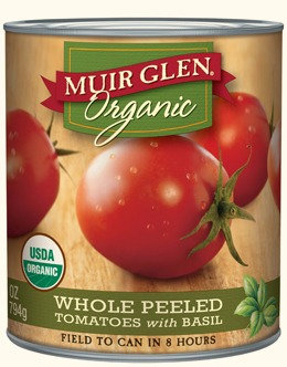 Muir Glen Organic Whole Tomatoes with Basil