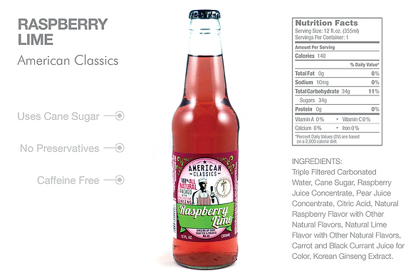 American Classics Raspberry Lime