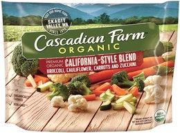 Cascadian Farm Organic California Style Blend