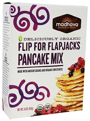 Madhava Organic Flip for Flapjacks Pancake mix