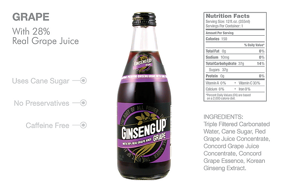 GinsengUp Grape