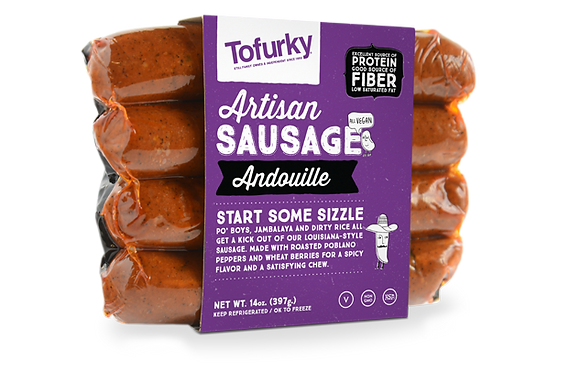 Tofurky – Artisan Sausage - Andouille